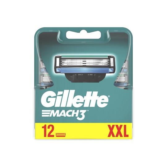 Gillette Mach3 náhradní hlavice 12 ks