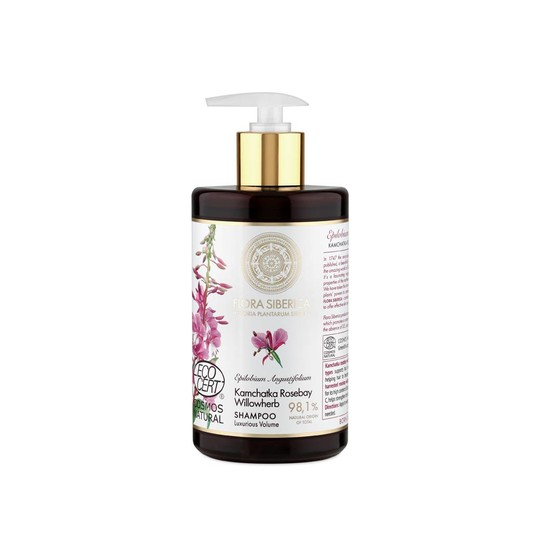 Flora Siberica Kamchatka Rosebay Wilowherb šampon 480 ml