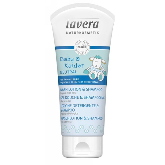 Lavera Neutral Baby & Kid dětský sprchový gel a šampon 200 ml