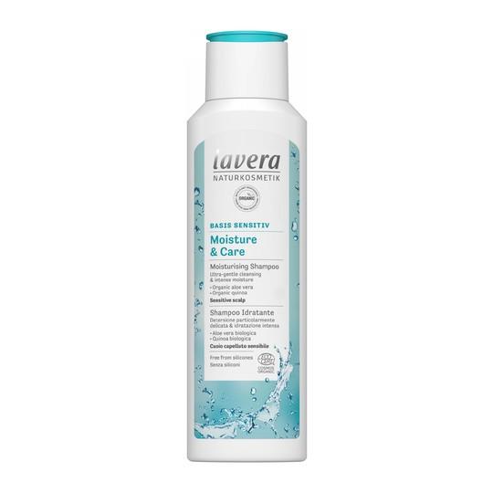 Lavera Basis Sensitive Moisture & Care šampon na vlasy 250 ml