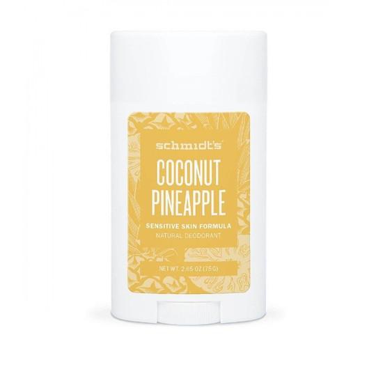Schmidt's Coconut + Pineapple tuhý deodorant 58 ml
