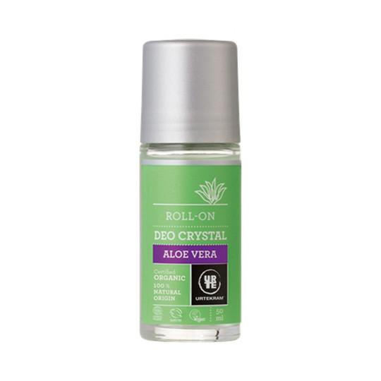 Urtekram Deo Crystal Aloe Vera kuličkový deodorant 50 ml