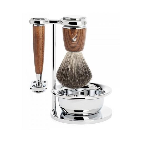 Mühle Rytmo Ash Pure Badger sada na holení