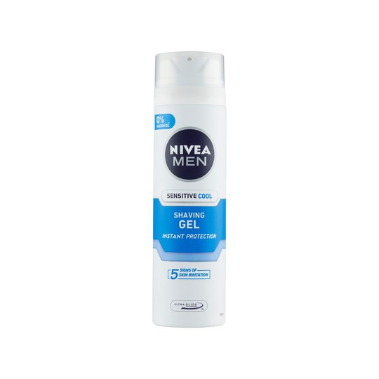 Nivea Men Sensitive Cool gel na holení 200 ml