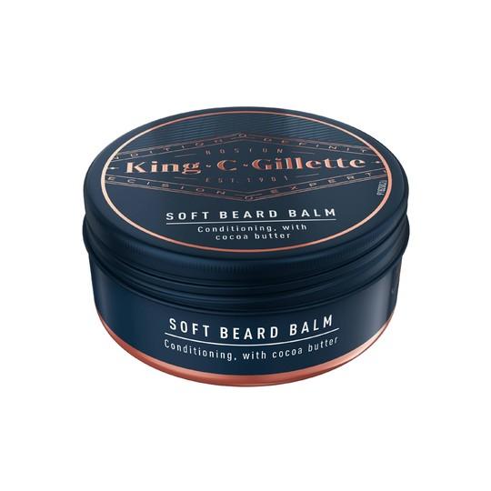 King C. Gillette Soft Beard Balm balzám na vousy 100 ml