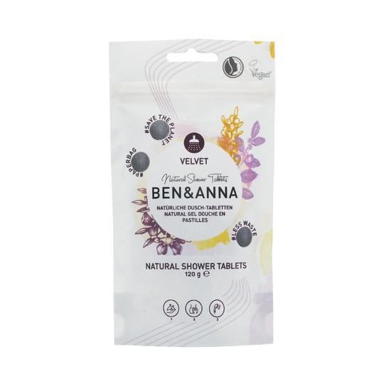 Ben&Anna Velvet sprchový gel v tabletách 24 ks
