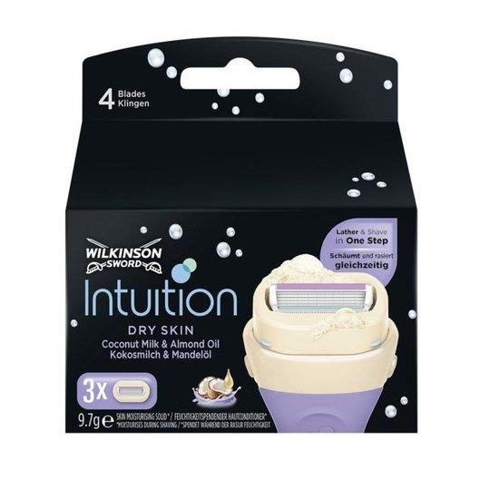Wilkinson Intuition Dry Skin náhradní hlavice 3 ks