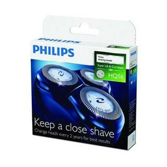 Philips holicí frézky HQ56/50, 3 ks