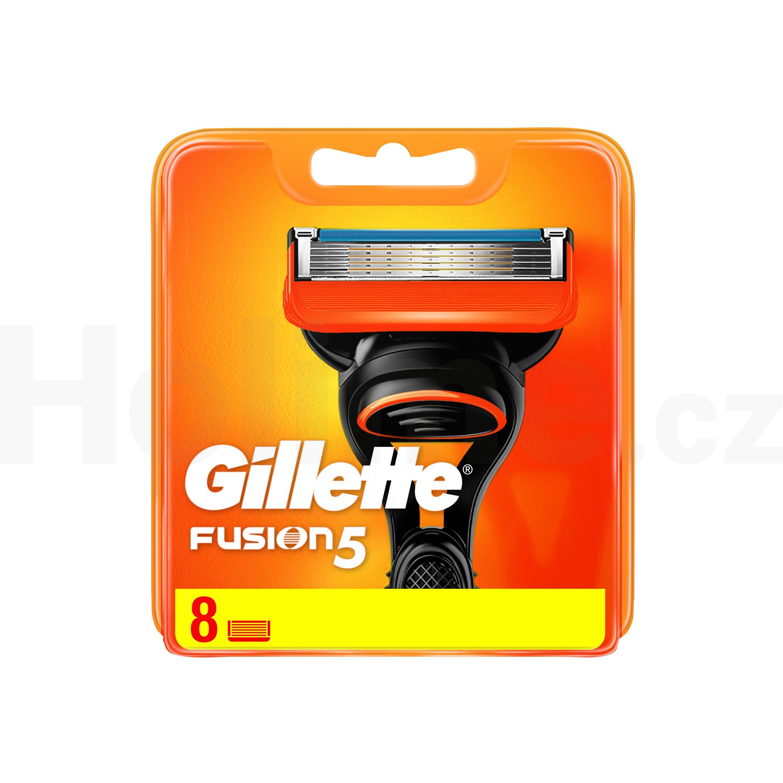 Gillette Fusion Manual náhradní hlavice 8 ks
