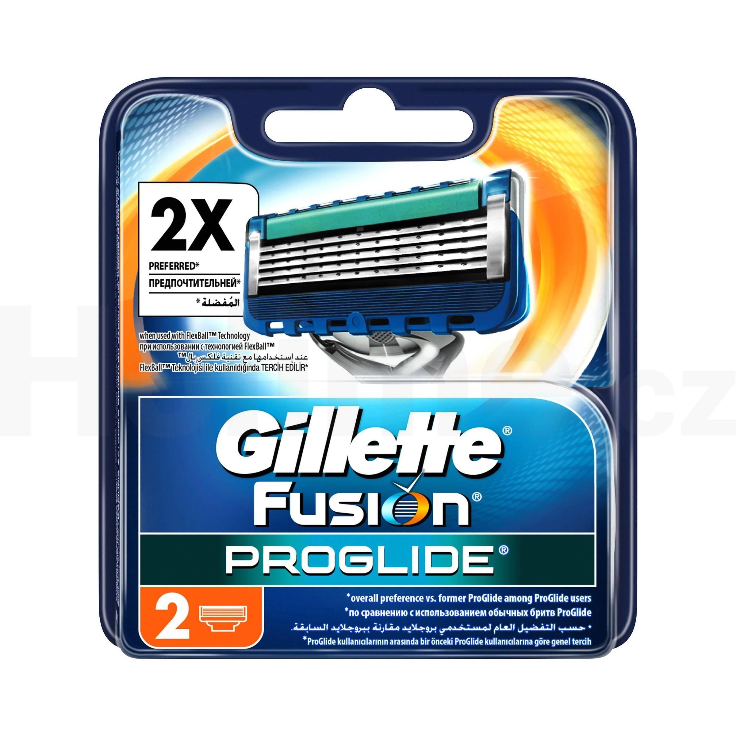 Gillette Fusion ProGlide Manual náhradní hlavice 2 ks