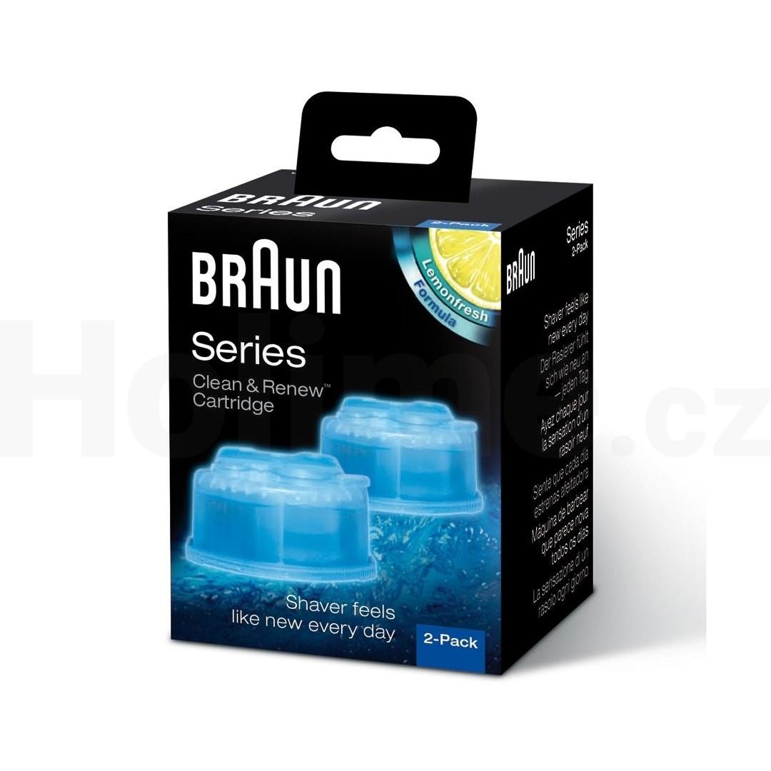 Braun CCR 2 Clean Renew náhradní čisticí náplně 2 ks citron