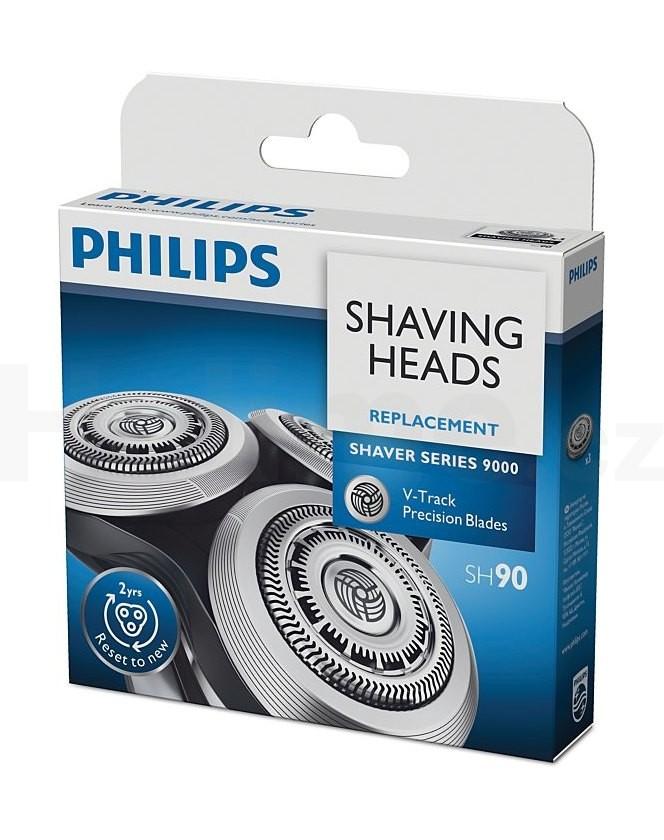 Philips náhradní holicí frézky SH90/50, 3ks