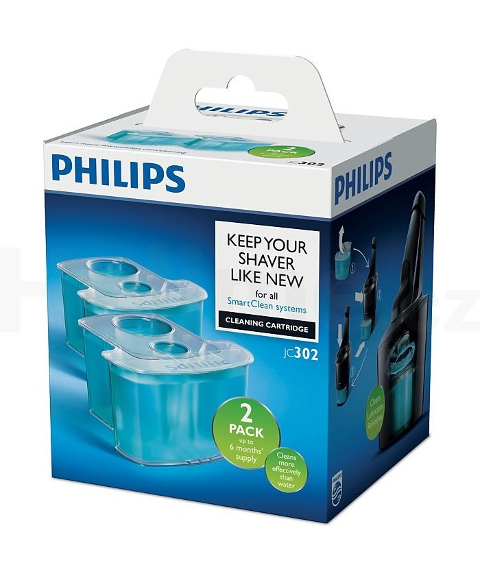 Philips JC302/50 čisticí náplně pro čistící jednotku SmartClean 2 ks