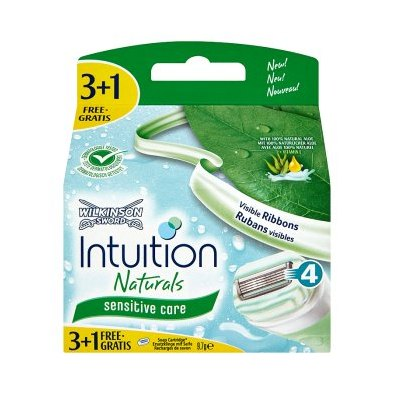Wilkinson Intuition Naturals Sensitive 4 ks