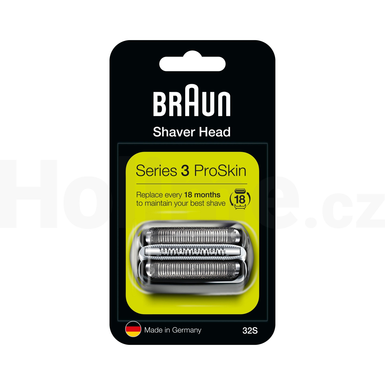 Braun CombiPack Series3 - 32S MicroComb břit + folie