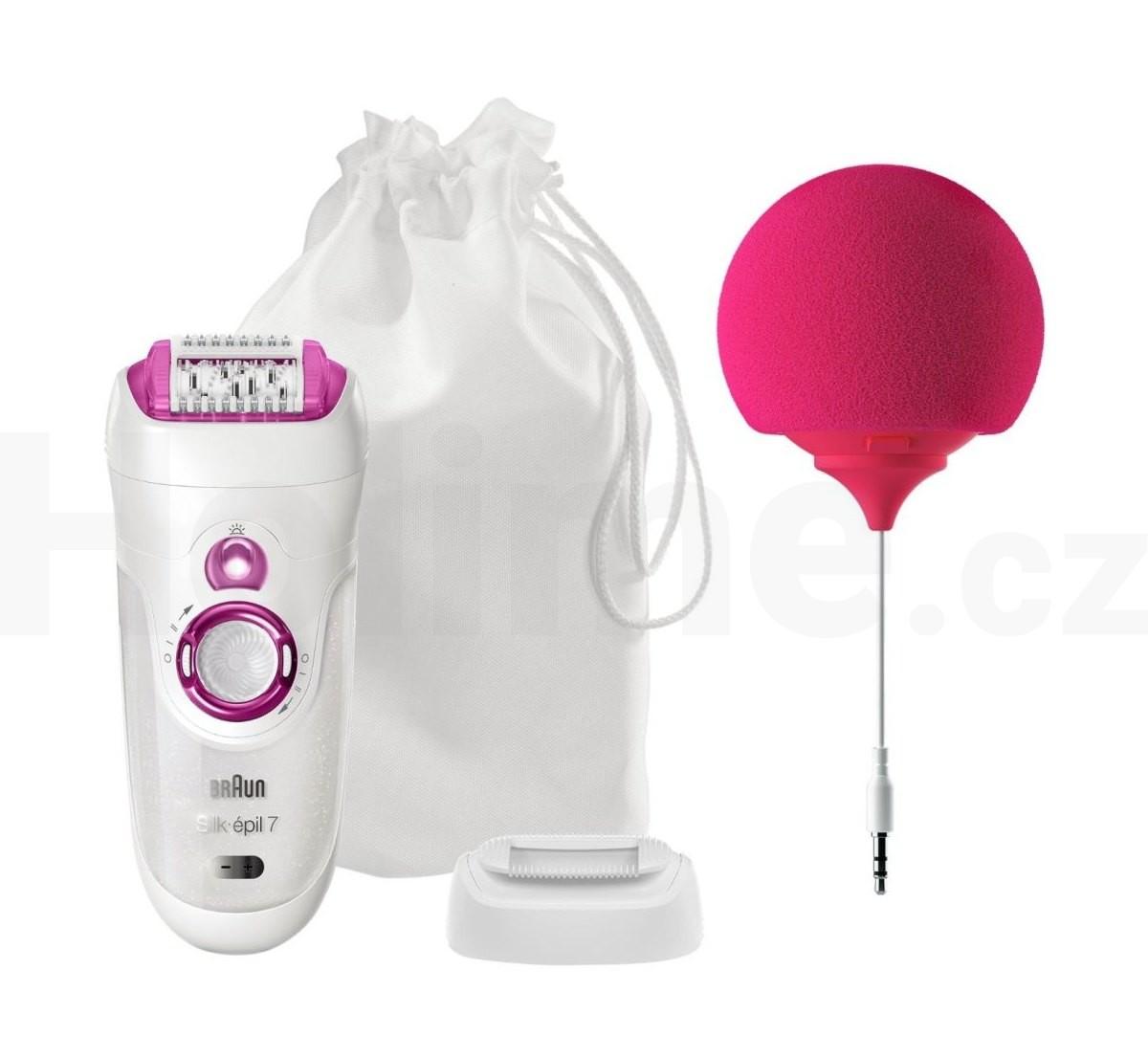 Braun Silk épil 7-527 Wet&Dry epilátor + reproduktor