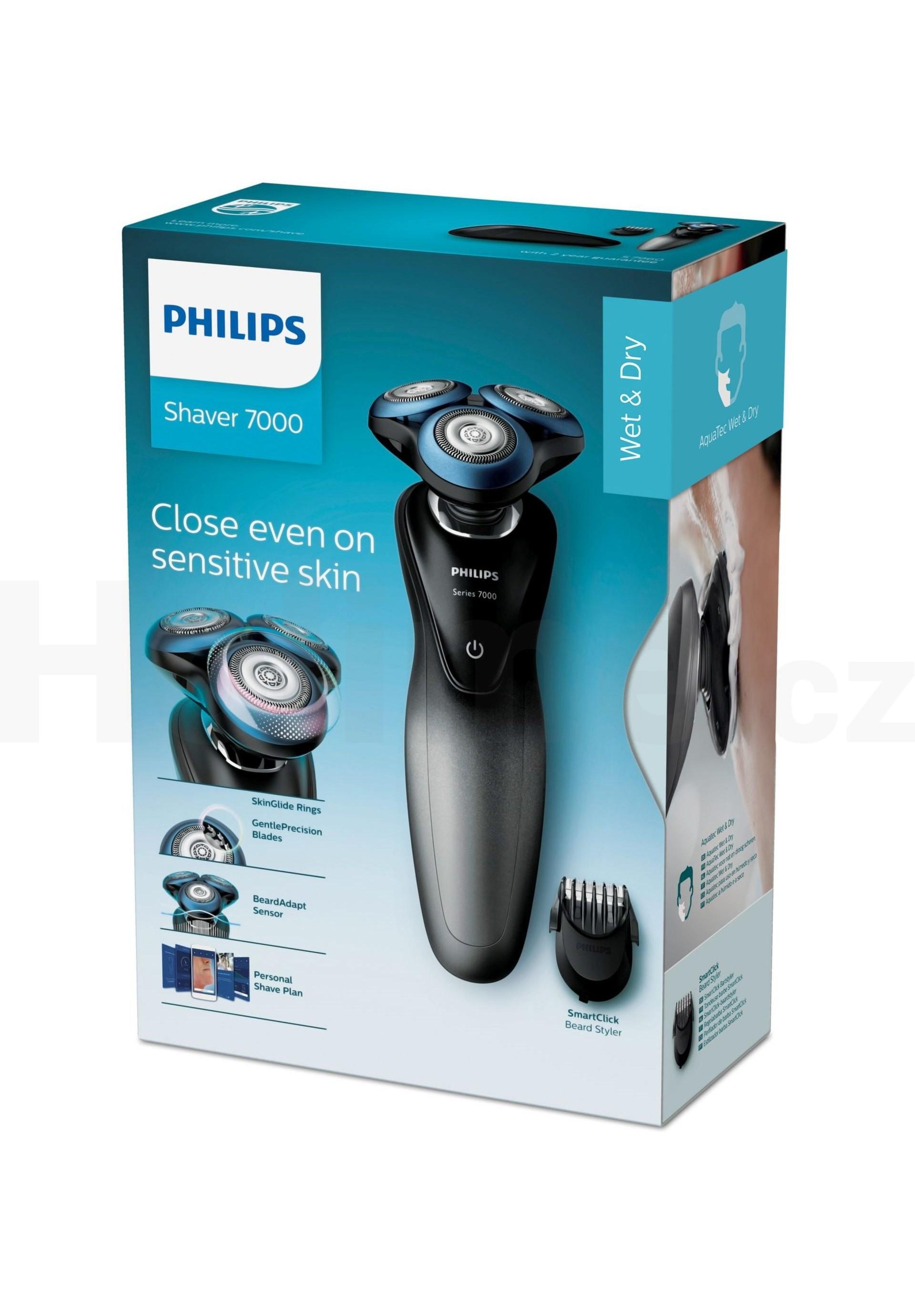 Philips Series 7000 S7960/17 Wet&Dry holicí strojek