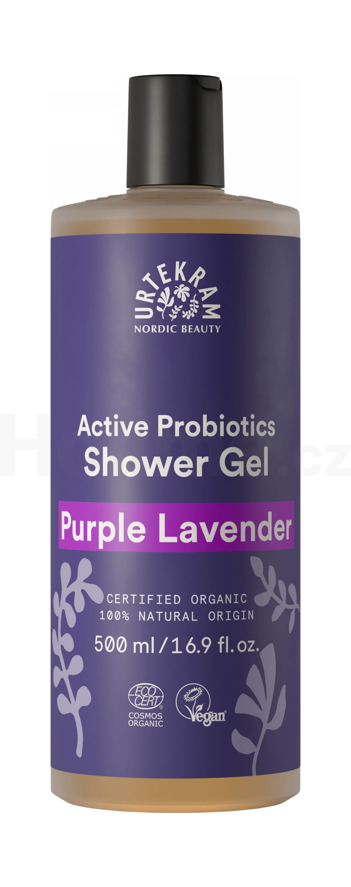Urtekram Shower Gel Purple Lavender sprchový gel 500 ml