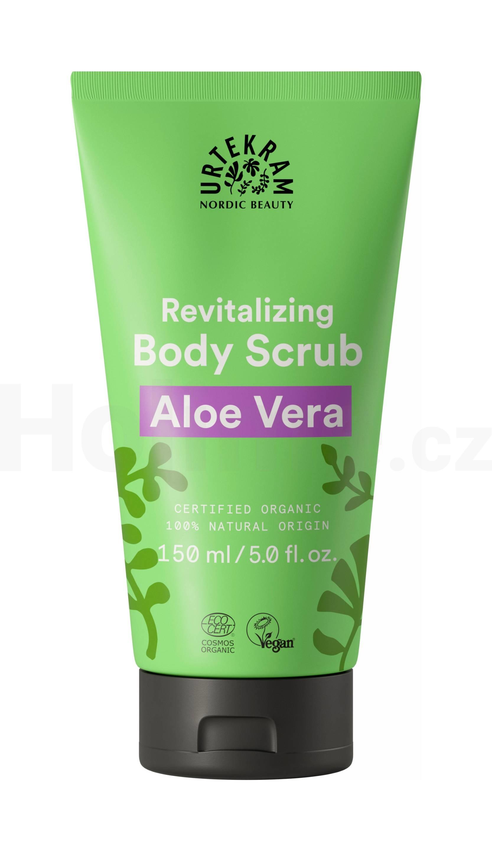 Urtekram Body Scrub Aloe Vera tělový peeling 150 ml