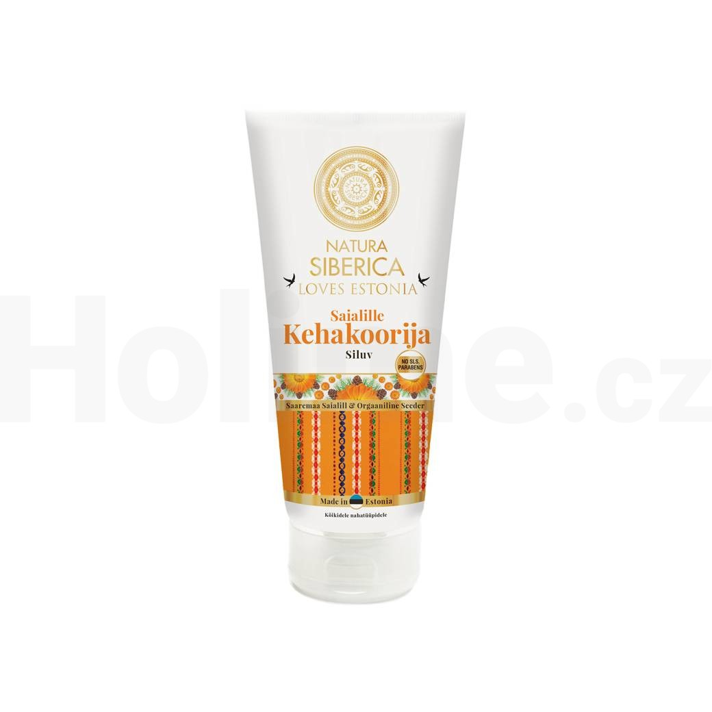 Natura Siberica Loves Estonia tělový peeling 200 ml