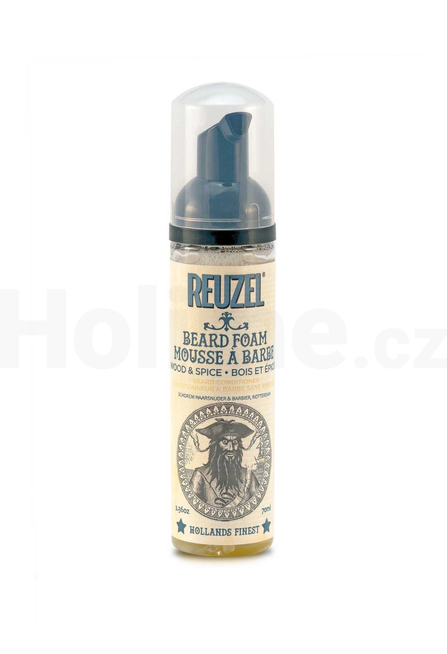 Reuzel Wood & Spice pěna na vousy 70 ml