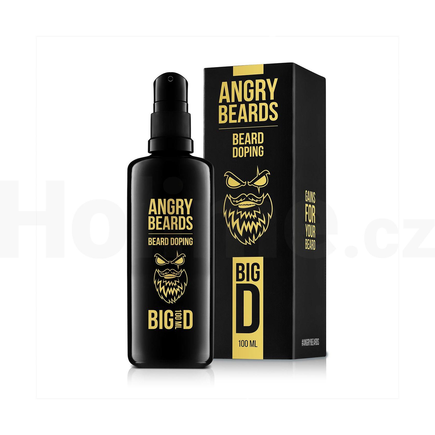 Angry Beards Beard Doping Big D sérum na vousy 100 ml